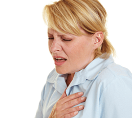 Irregular or racing heartbeat Palpitations